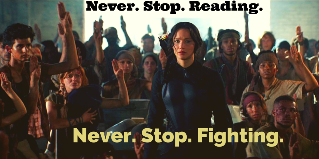 Never. Stop. Reading.