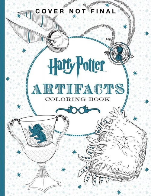 Get The Harry Potter Artifacts Coloring Book On Amazon