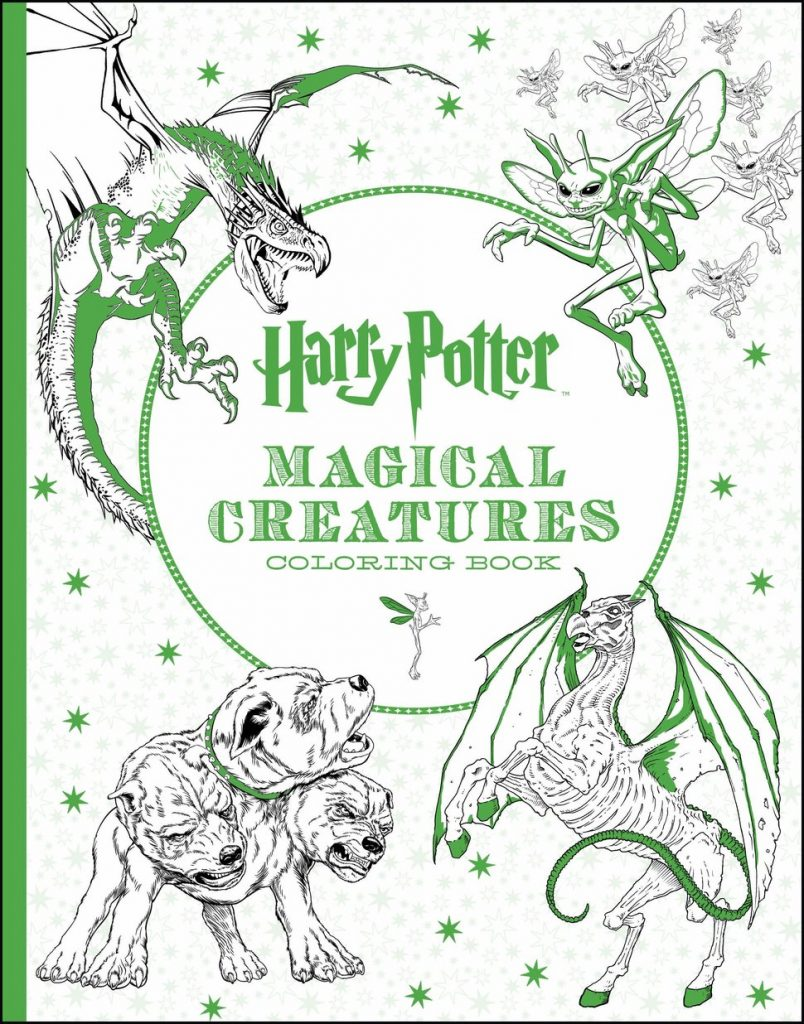 6 Harry Potter Coloring Books You Need Right Now