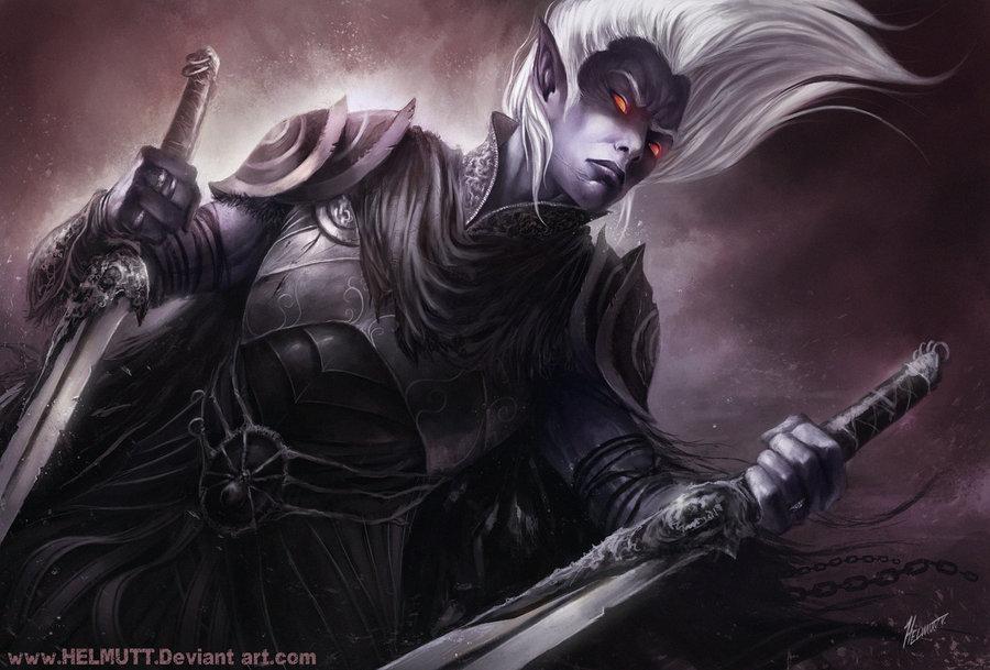 Drizzt Do'Urden Dark Elf