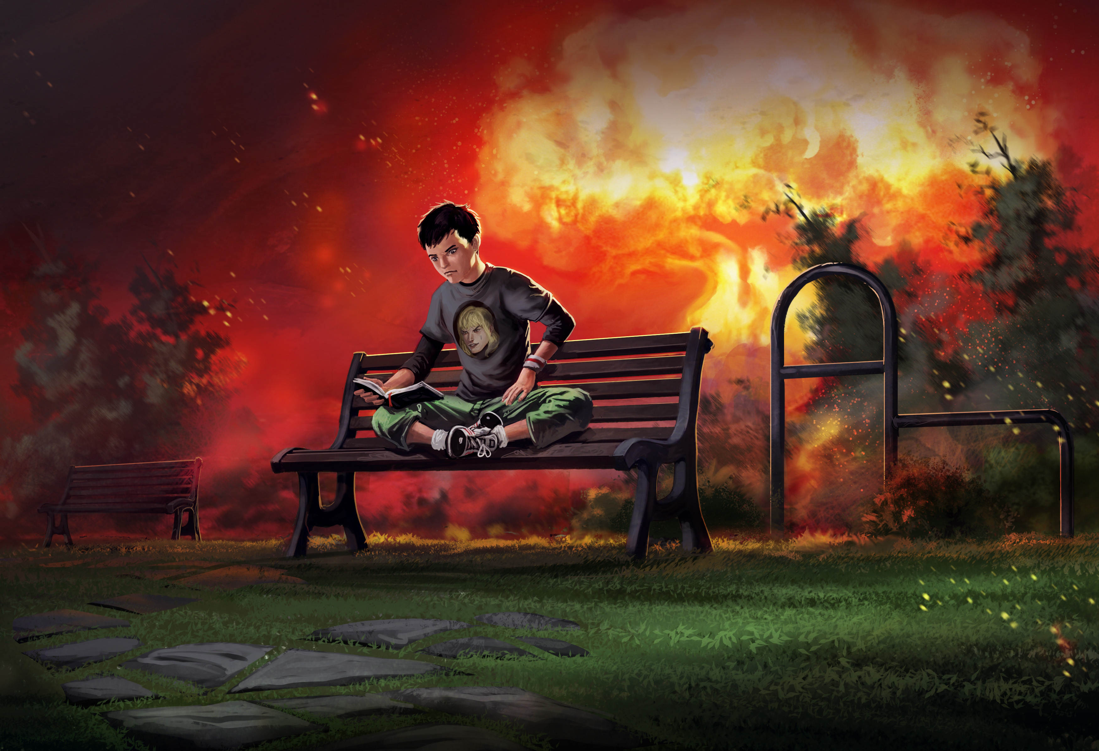 reading the best apocalyptic books as the world ends