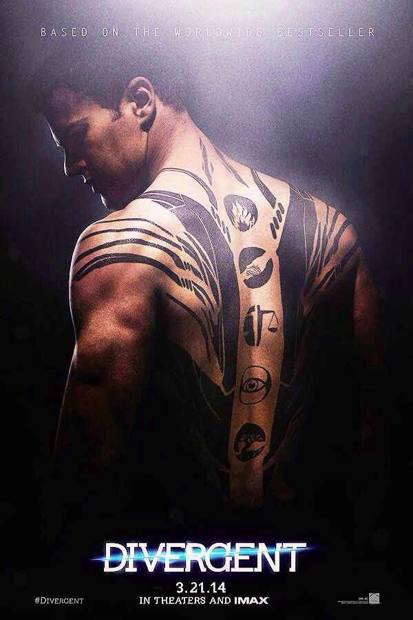 fours tattoos from Divergent