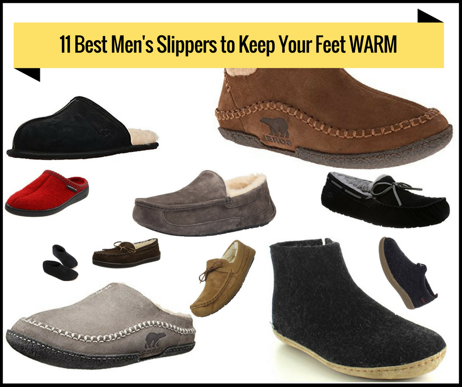 Best Slippers for Men to Keep Your Feet Warm